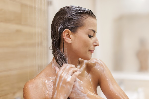 Shampoo anti-queda de cabelo para mulheres